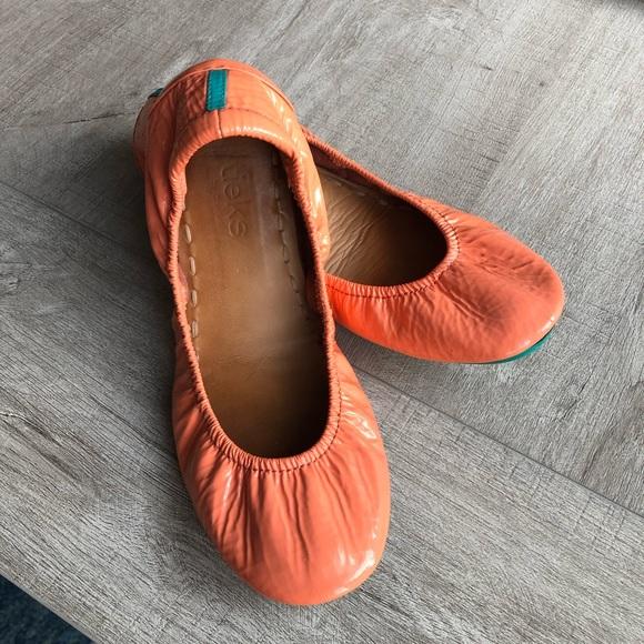 Tieks Shoes | Tieks Coral Patent Size 7